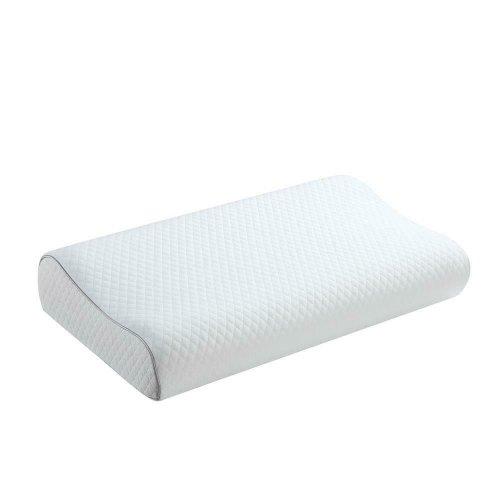 White Queen Contour Foam Pillow