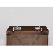 Artesia Dark Cocoa Three-drawer Nightstand