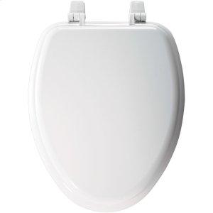 Molded Wood Elongated Toilet Seat Product Image