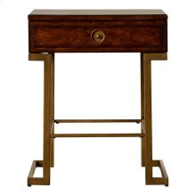 Mulholland Square End Table - Pecan