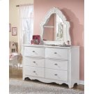 Exquisite - White 2 Piece Bedroom Set Product Image