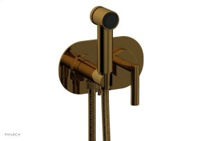 TRANSITION 1 Wall Mounted Bidet, Lever Handle 120-65 - French Brass Product Image