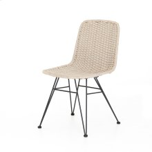 Natural Rope Cover Dema Outdoor Dining Chair