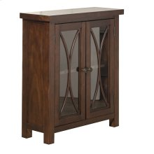 Bayside 2 Door Cabinet - Rustic Mahogany