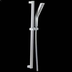 Chrome H2Okinetic ® 3-Setting Slide Bar Hand Shower Product Image