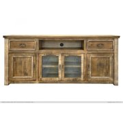 """80"""" TV Stand w/ 2 Drawers & 4 Doors Product Image"""