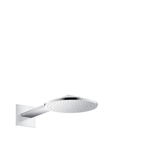 Chrome Overhead shower 250 1jet with shower arm