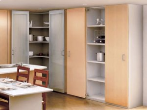 Lateral Opening System - Medium Cabinet Doors Product Image