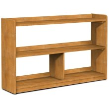 Abby 48''W Divided Bookcase