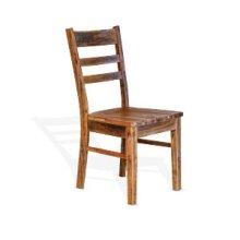 Havana Ladderback Chair Wood Seat