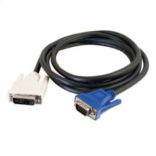 2m DVI Male to HD15 VGA Male Video Cable (6.6ft)
