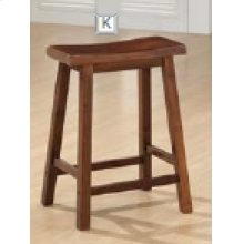 "24"" Bar Stool (Walnut)"