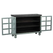 Display Cabinet - Spearmint Pine Finish