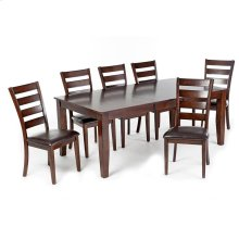 Kona Dining Table  Raisin