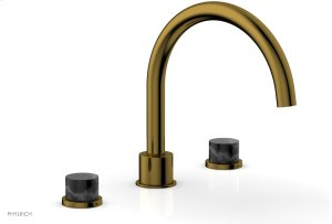 BASIC II Deck Tub Set 230-42 - French Brass Product Image