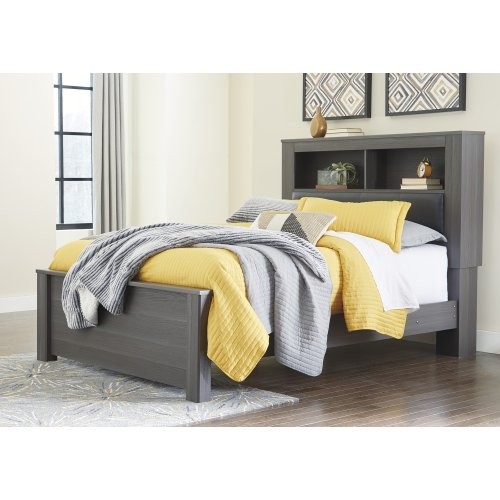 Foxvale - Gray/White 3 Piece Bed Set (Queen)