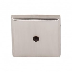 Aspen II Square Backplate 1 1/4 Inch - Brushed Satin Nickel Product Image
