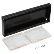 """Optional 36"""" Non-Duct Kit for BROAN AP1 and RP2 series range hoods in Black Product Image"""