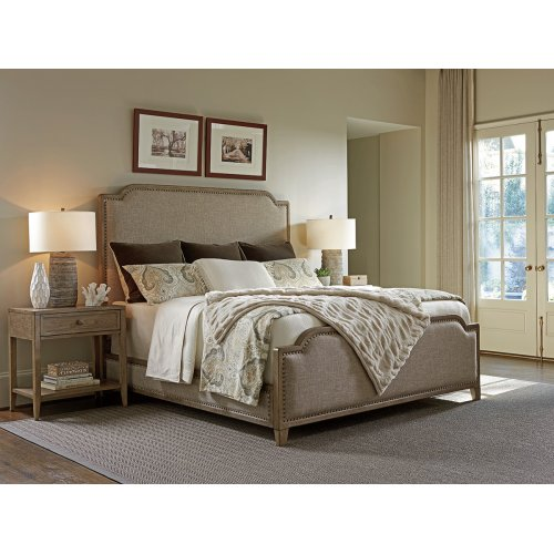 Stone Harbour Upholstered Bed California King Headboard