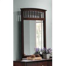 Tia Cappuccino Dresser Mirror