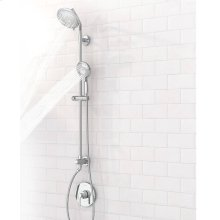 """Spectra Versa Shower System with 4-Spray Shower Head and Hand Shower - 36"""" Slide Bar  American Standard - Polished Chrome"""