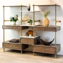 Elemental Storage Wall Etagere