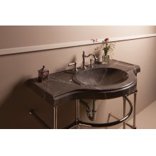 Renaissance Console Top, Marquina Taupe Marquina Taupe