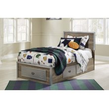 McKeeth - Gray 5 Piece Bed Set (Twin)