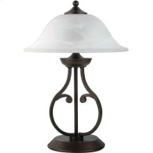 Traditional Dark Bronze Table Lamp