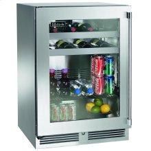 "24""Outdoor Dual-Zone Refrigerator/Wine Reserve"