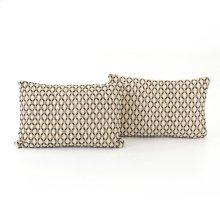 "16x24"" Size Mariposa Diamond Pillow, Set of 2"
