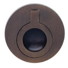 Round Drop Ring in SB (Shaded Bronze, Lacquered)