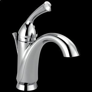 Chrome Single Handle Centerset Bathroom Faucet Product Image