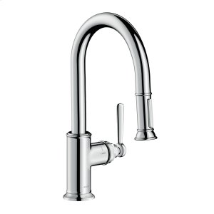 Chrome Single lever kitchen mixer 2jet 1.75 GPM Product Image