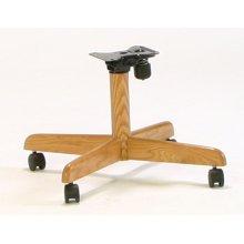 Oak Tilt-swivel Chair Base 2pk