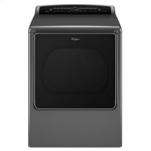 8.8 cu.ft Top Load HE Electric Dryer with Intuitive Touch Controls, Steam Refresh