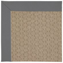 Creative Concepts-Grassy Mtn. Canvas Charcoal Machine Tufted Rugs