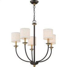 Audley Chandelier in Old Bronze