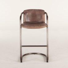 Portofino Bar Chair Jet Brown