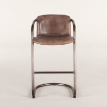 Portofino Bar Chair Jet Brown