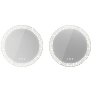 Mirror Set (2 Pieces) With Lighting Product Image