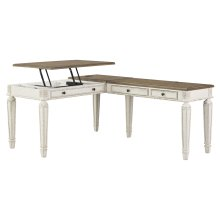 Realyn - Two-tone 2 Piece Home Office Set