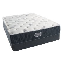BeautyRest - Silver - Sea Glass - Tight Top - Plush - Full
