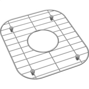 "Dayton Stainless Steel 12-7/16"" x 10-11/16"" x 1"" Bottom Grid Product Image"