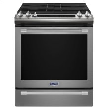 30-INCH WIDE SLIDE-IN GAS RANGE WITH TRUE CONVECTION AND FIT SYSTEM - 5.8 CU. FT.