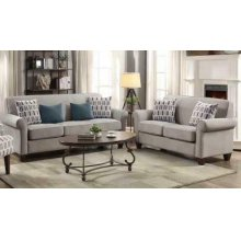 Gideon Transitional Cement Two-piece Living Room Set