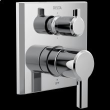 Chrome 14 Series Integrated Diverter Trim - 6 Function Diverter
