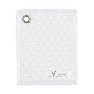 Diamond White Quilt Swatch