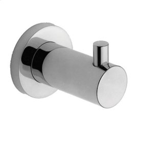 Gloss Black Single Robe Hook