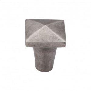 Aspen Square Knob 7/8 Inch - Silicon Bronze Light Product Image